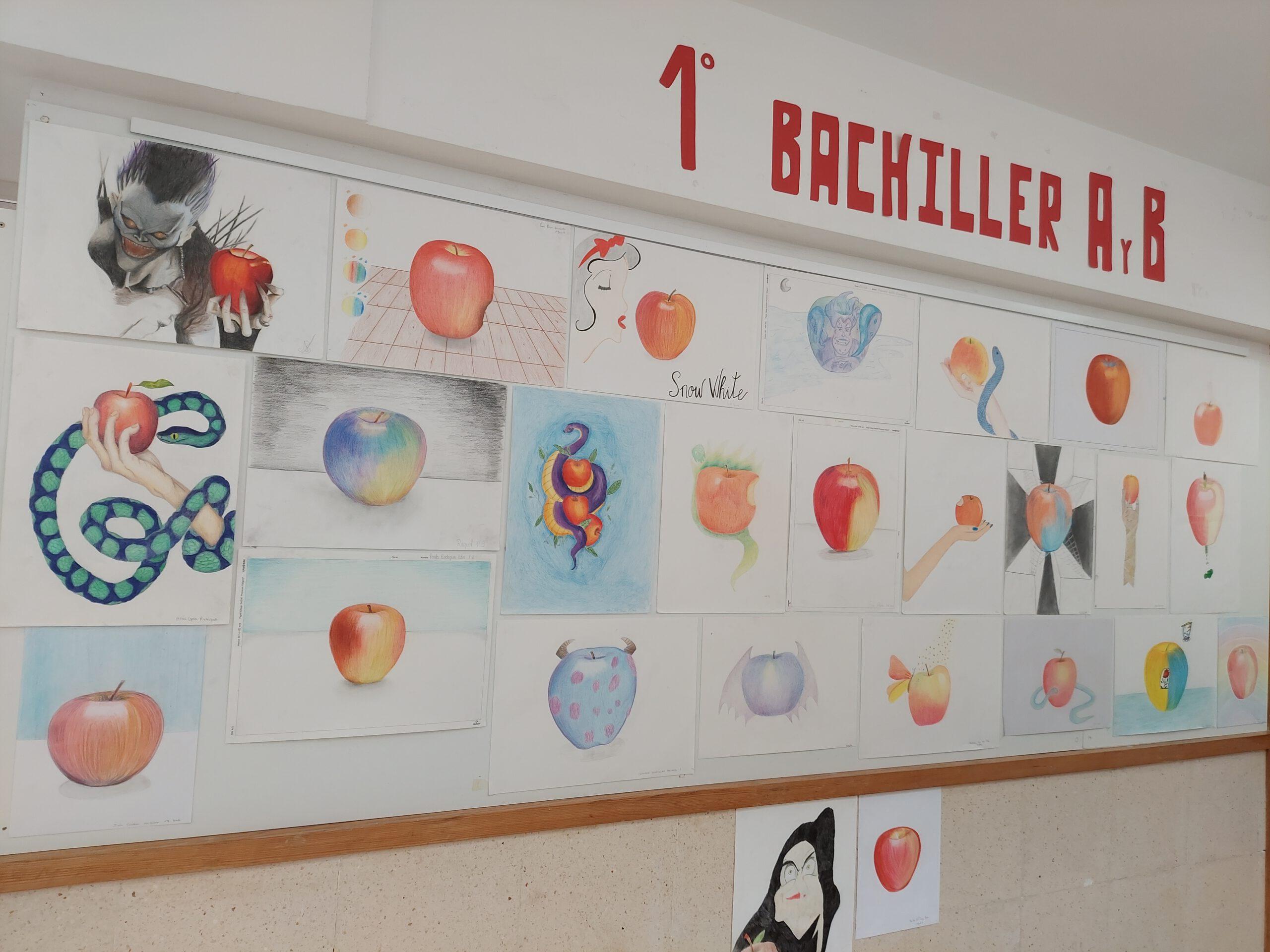 Manzanas creativas: 1ºA y B Bachillerato