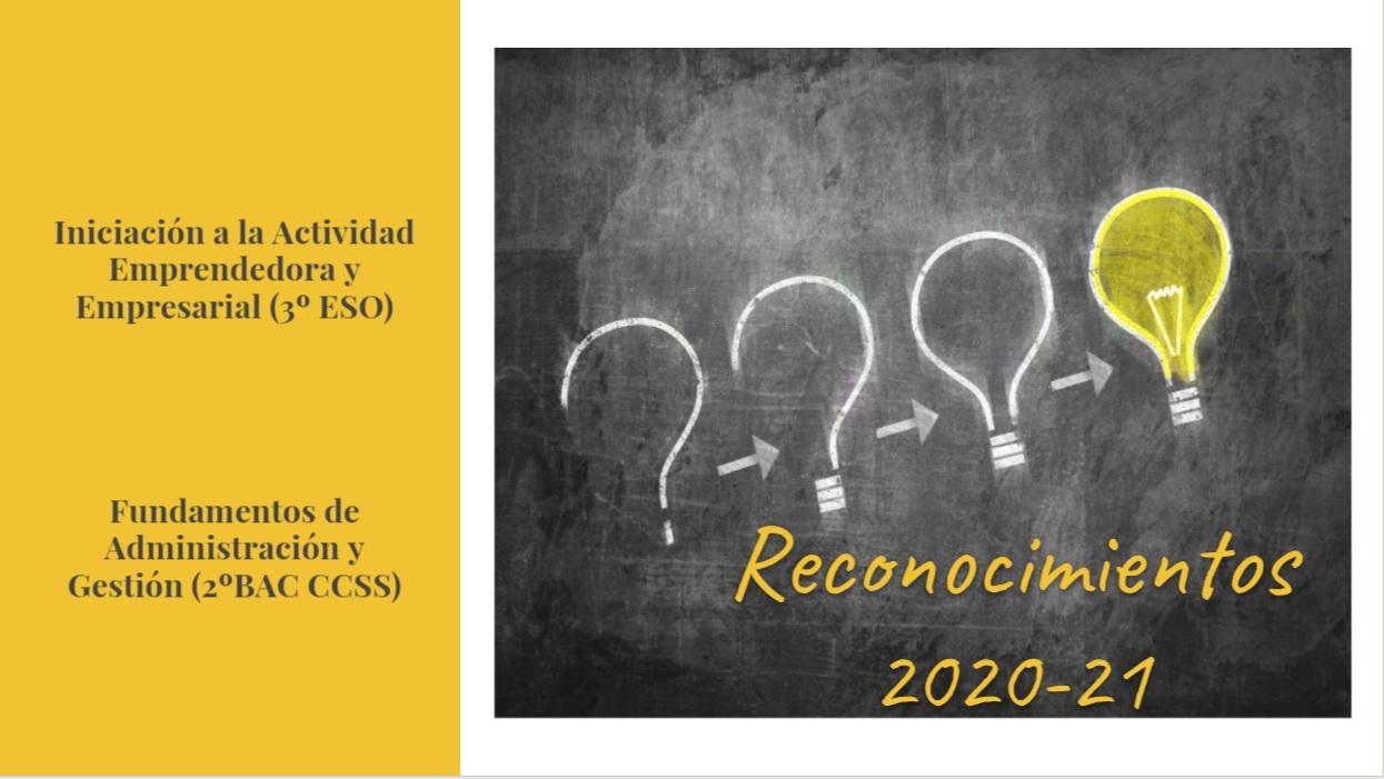 Premios Proyectos Empresariales 20-21